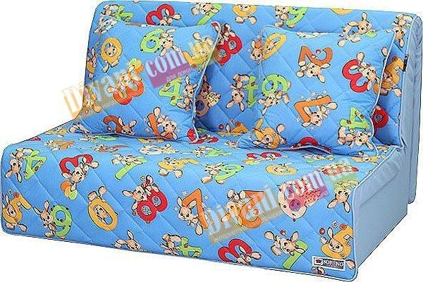 Ортопедический диван-кровать Sofyno Бамбино, ткань микровелюр Бамбино