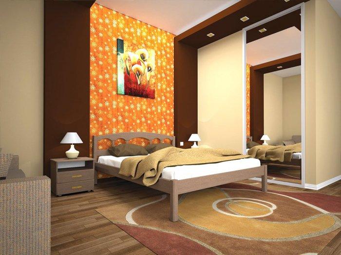 Двуспальная кровать Омега - 180см