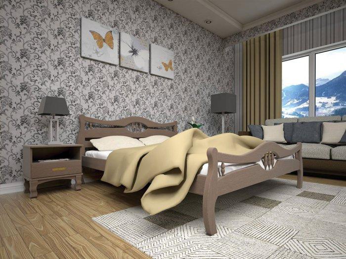 Односпальная кровать Корона 2 - 90см