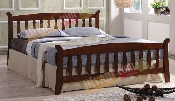 Двуспальная кровать  Berta (Берта) 200x160см