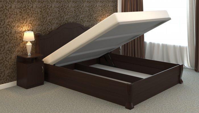 Односпальная кровать Татьяна-элегант - 90x200см c механизмом