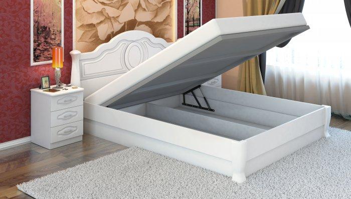 Полуторная кровать Анна-элегант - 140x200см c механизмом