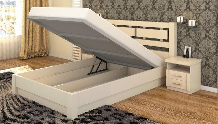 Полуторная кровать Виктория - 120x200см c механизмом