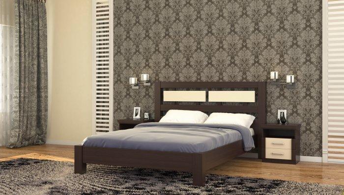 Двуспальная кровать Виктория - 160x190-200см c механизмом