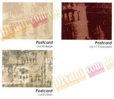 Жаккард Посткард (Postcard) ширина 140см