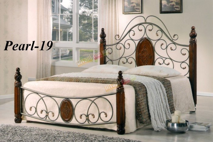 Двуспальная кровать  Pearl-19 (Перл-19)