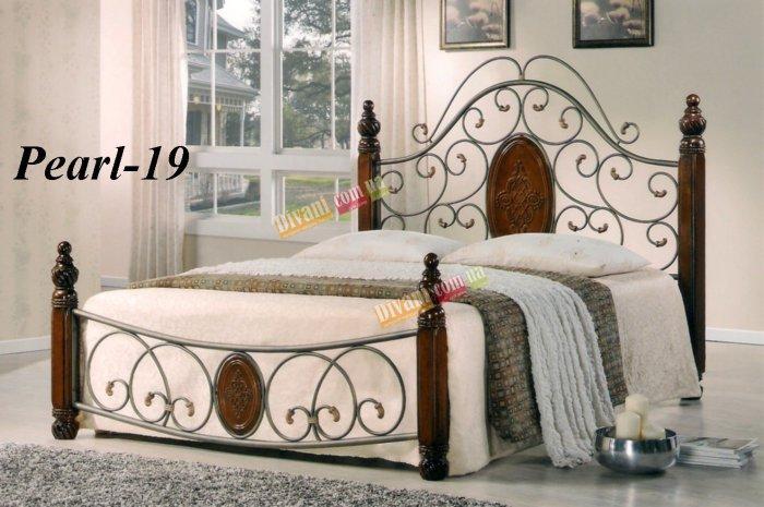 Двуспальная кровать  Pearl-19 200x180см