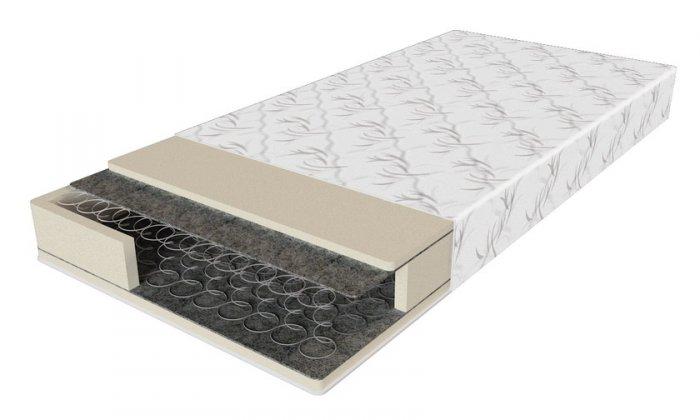 Двуспальный матрас Эко 52 — 180x200 см