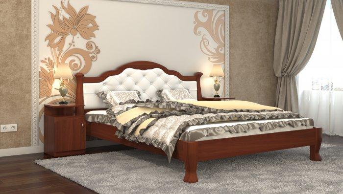 Полуторная кровать Татьяна-элегант Люкс - 120x200см