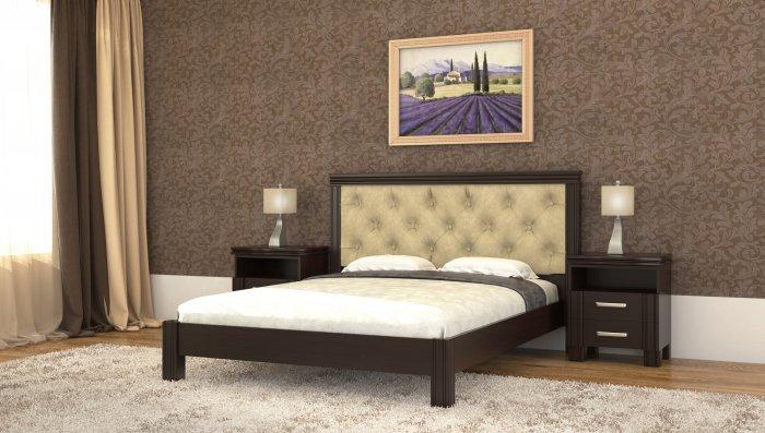 Двуспальная кровать Маргарита ДСПЛ - 160x190-200см c механизмом