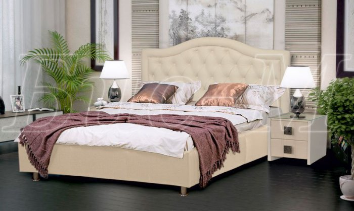 Кровать Афина-2 - 200x200см с подъемным механизмом