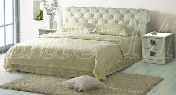 Двуспальная кровать Афина-3 - 160x200см с подъемным механизмом