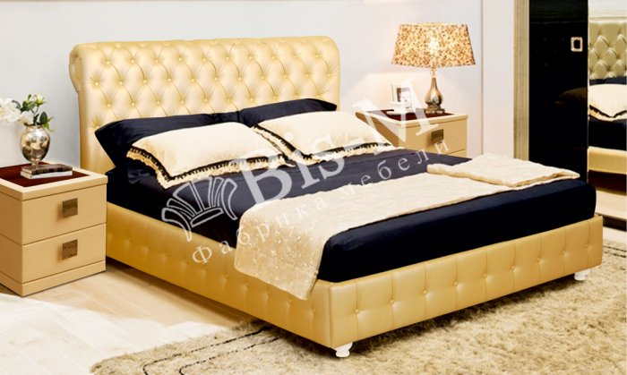 Двуспальная кровать Афина 3 - 160x200см с подъемным механизмом