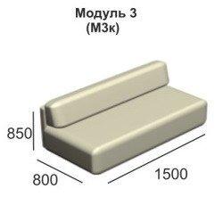 Модульный диван Вена модуль М3к