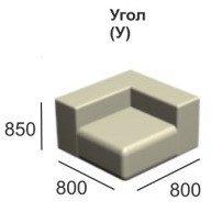 Модульный диван Вена модуль У