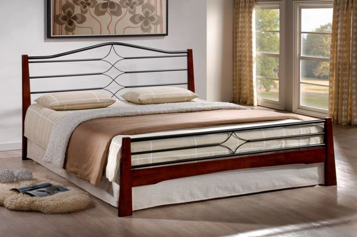 Двуспальная кровать Флоренс - 200x160см