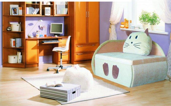 Детский диван Кот