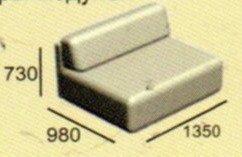 Модуль диван Неаполь М2к