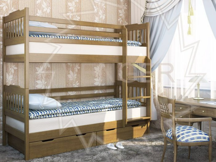 Двухъярусная кровать Ева