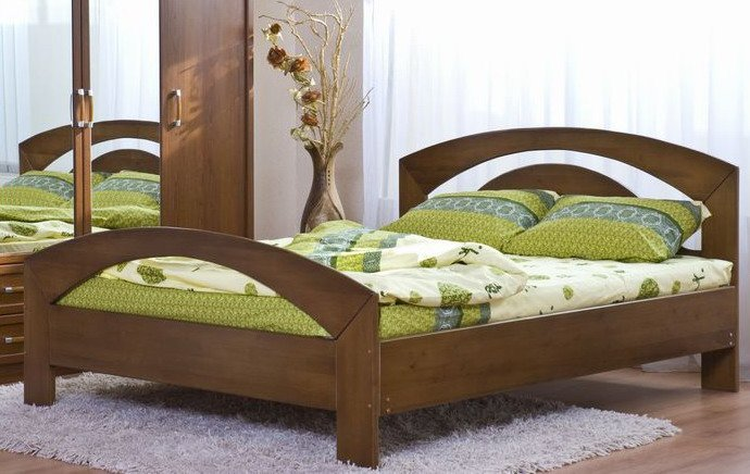 Двуспальная кровать Лидия - 200x180см