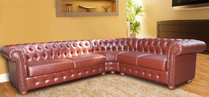 Угловой диван Сан-ремо 3+угол+2