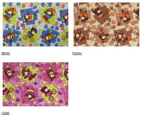 Ткань Пазл (Puzzle) ширина 140см