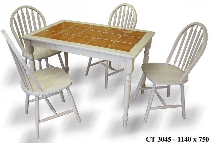 Стол Onder Metal CT3045 белый