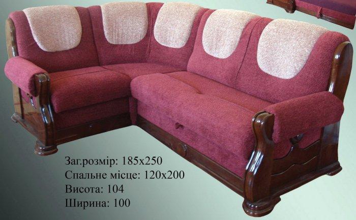 Кожаный угловой диван Шрек
