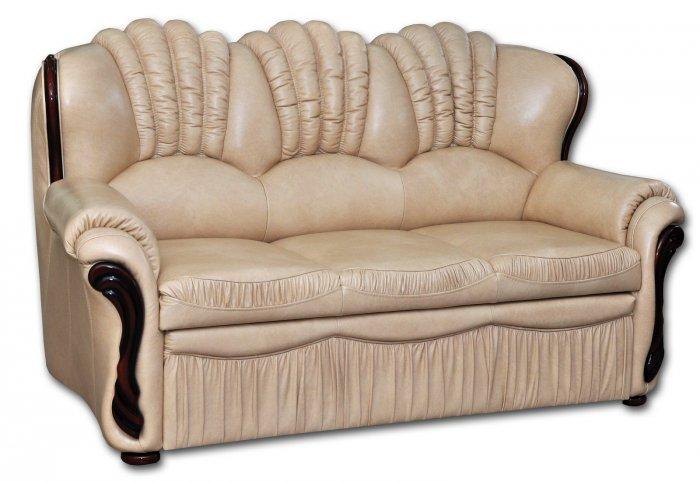 Кожаный диван Гранд 4Р-Н