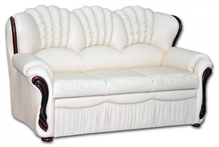 Кожаный диван Гранд 3Р-Н