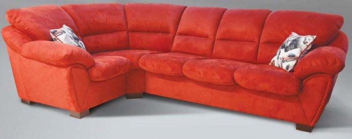 Модульный кожаный диван Калифорния