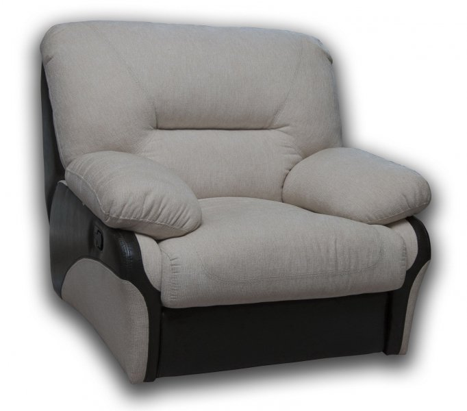 Кожаное кресло Чирз электрический реклайнер
