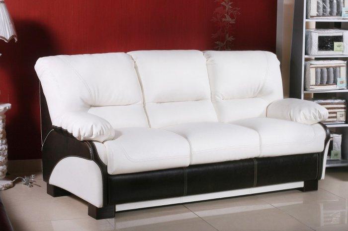 Кожаный диван Бостон 3P 1.6