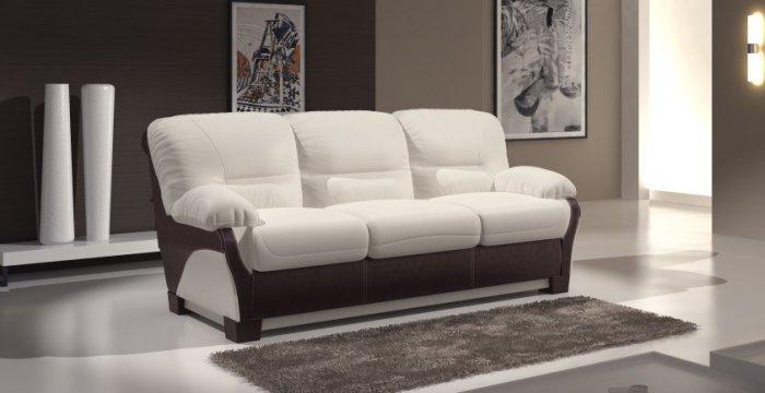 Кожаный диван Чирз Н 3Р 1.6