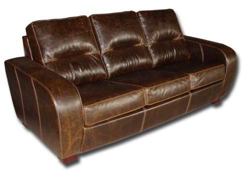 Кожаный диван Черчиль 2Р