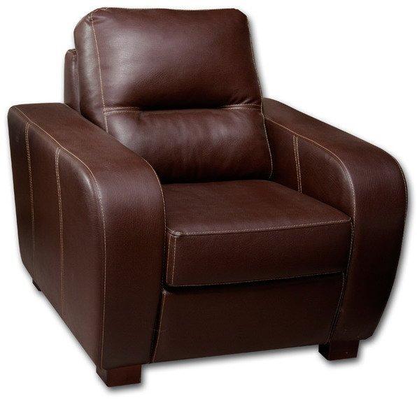 Кожаное кресло Черчиль