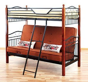 Кровать двухъярусная DD Fun Futon размер 70/140x190см