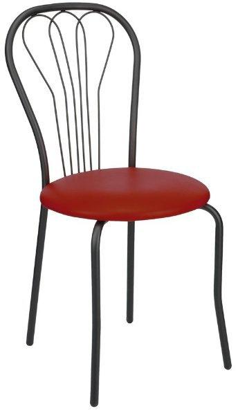 Барный стул Ванесса каркас черный