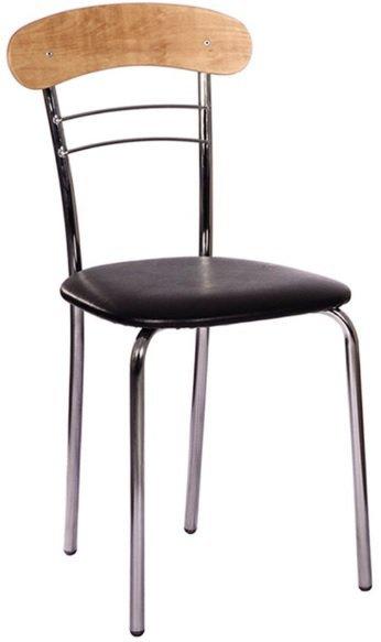 Барный стул Патрик каркас хром