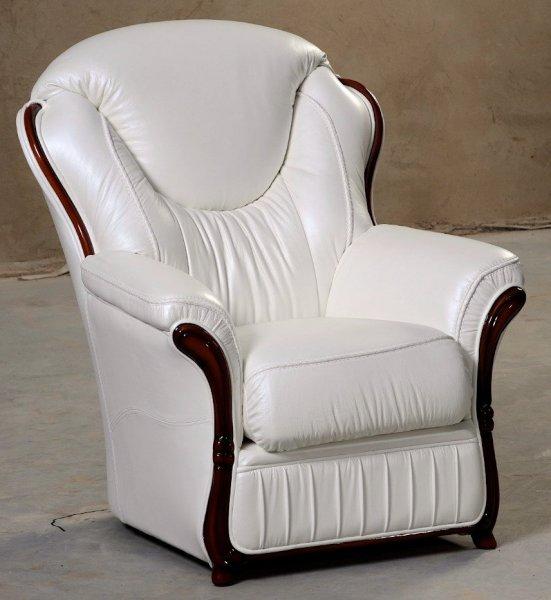 Кожаное кресло Хилтон