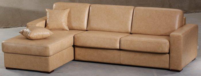 Кожаный угловой диван Ричард 1.4