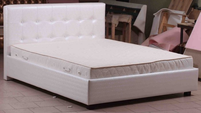 Двуспальная кровать Лея с подъемным механизмом - 160x190 или 200см