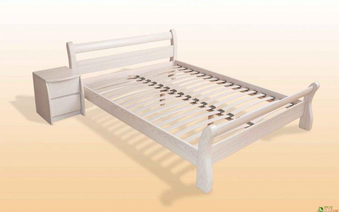 Односпальная кровать НЗК Земфира Ясень - 80x200см