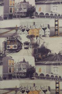 Материал: Экожаккард (), Цвет: Сан-Франциско