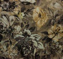 Материал: Фиона (Fiona), Цвет: Flower_grey_7