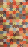 Материал: Канзас (Kansas), Цвет: Puzzle_03